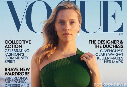 «Я была в шоке»: Риз Уизерспун вспомнила о реакции на «Харвигейт» в новом фотосете для Vogue