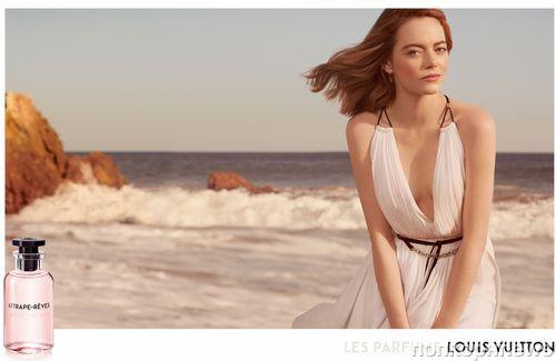 Эмма Стоун снялась в рекламной кампании нового аромата Louis Vuitton
