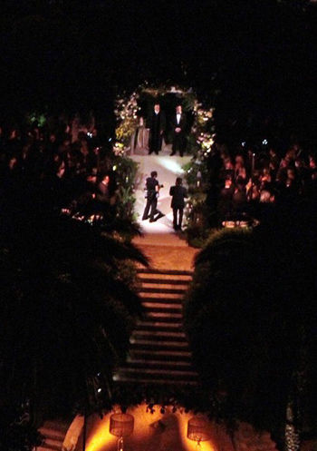 Фотографии папарацци со свадьбы Хилари Дафф
