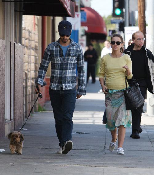 Натали Портман и Бенджамин Миллипайд в Лос-Анджелесе
