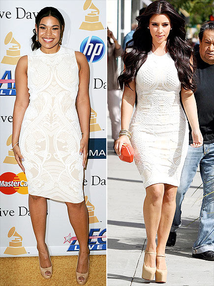 Fashion Battle: Джордин Спаркс и Ким Кардашиан