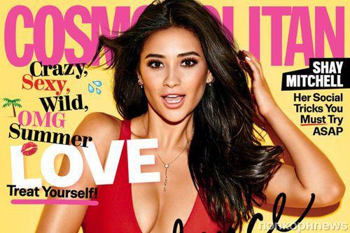 Звезда «Милых обманщиц» Шей Митчелл рассказала о своей ориентации в Cosmopolitan, июнь 2016