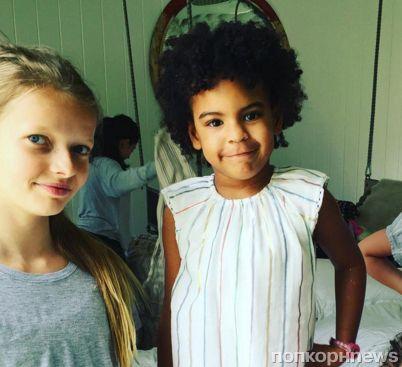 Дочь Гвинет Пэлтроу отметила день рождения в компании Блу Иви Картер