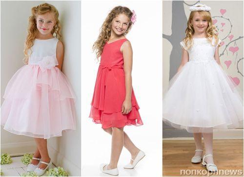 61e09175cad Модные детские платья на выпускной 2015 в детском саду  фото