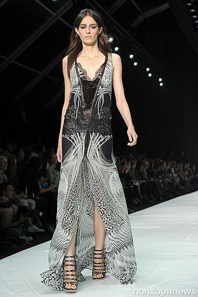 Модный показ Roberto Cavalli. Весна / лето 2012-2013