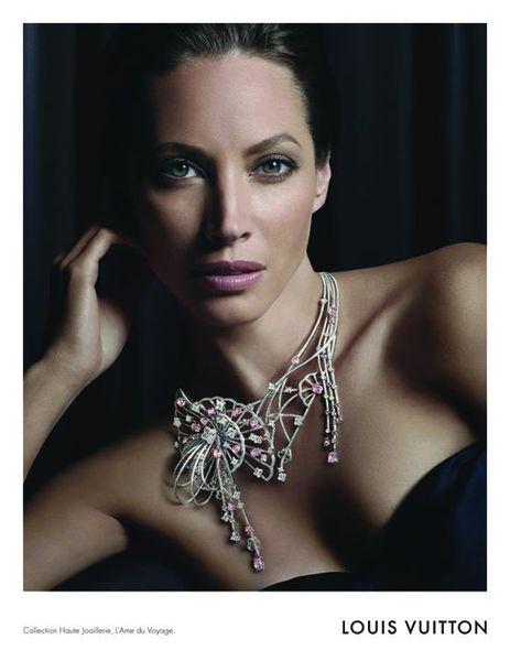 Кристи Терлингтон в рекламной кампании Louis Vuitton