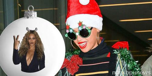 Бейонсе выпустила рождественскую коллекцию одежды