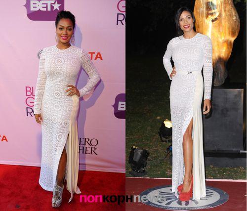 Fashion Battle: Лала Энтони и Розарио Доусон