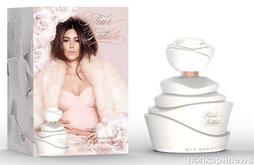 Ким Кардашян в рекламной кампании своего аромата Fleur Fatale: первый взгляд