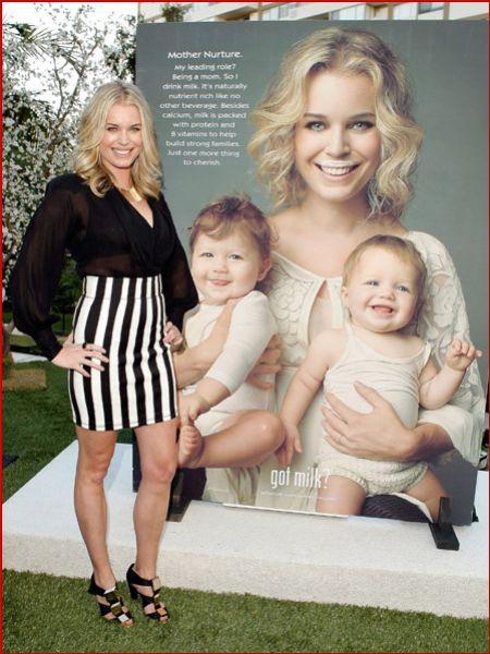 Ребекка Ромин и ее малышки для GOT MILK?