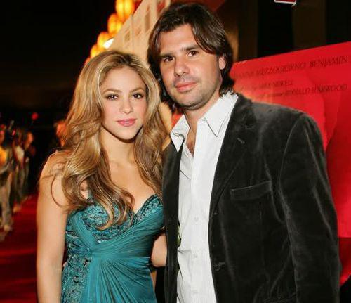 Шакира появилась на дне рождении бывшего бойфренда