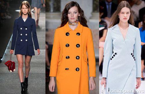 77d2cced9cd Модные пальто весна 2015  фото самых стильных моделей и фасонов