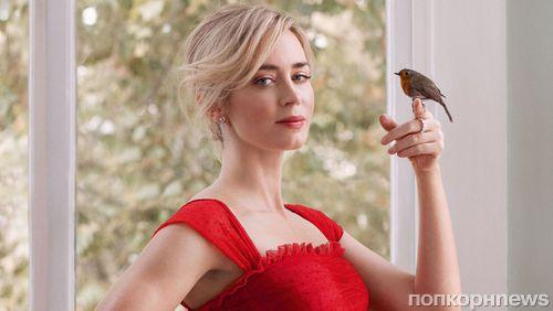 Эмили Блант в стильной фотосессии для британского Harper's Bazaar (январь 2019)