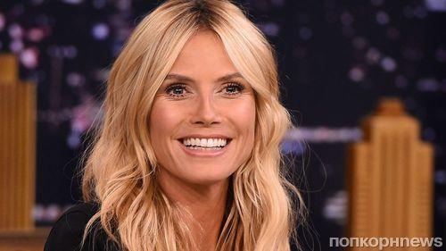 44-летняя Хайди Клум снялась обнаженной для MAXIM