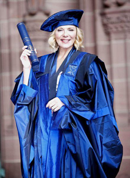 Ким Кэттролл стала почетным членом ливерпульского университета