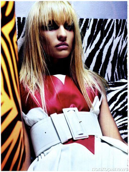 Кэндис Свэйнпоул в журнале Vogue Италия. Март 2012