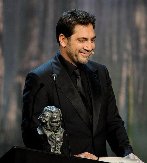 Хавьер Бардем на церемонии вручения наград премии Goya