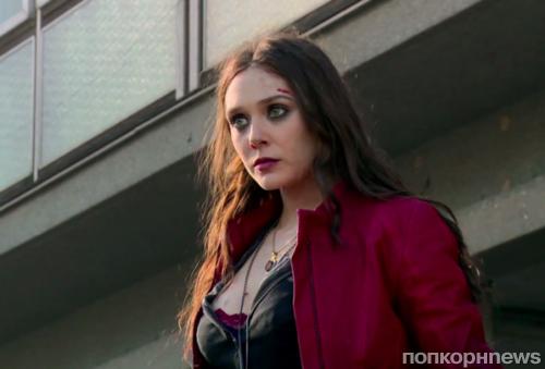 Видео: Алая ведьма в действии на съемках «Мстителей: Война бесконечности»