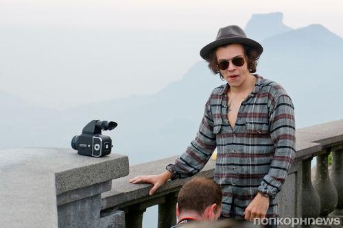 Группа One Direction отдыхает в Рио-де-Жанейро