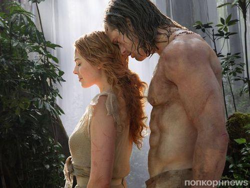 Марго Робби ударила Александра Скарсгарда  на съемках фильма «Тарзан. Легенда»