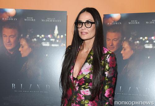 54-летняя Деми Мур разделась до нижнего белья ради роли в новом фильме