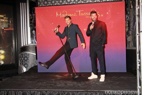 В Лас-Вегасе появился восковой Рики Мартин