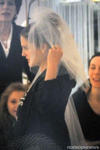 Дрю Бэрримор готовится к свадьбе