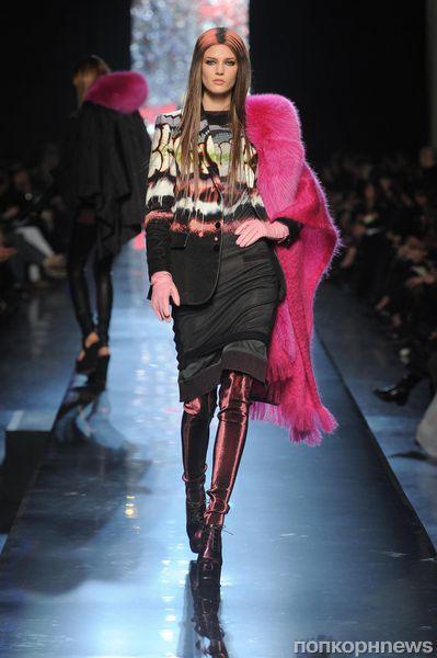 Модный показ Jean Paul Gaultier. Осень / зима 2012-2013