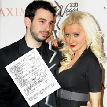 Кристина Агилера и Джордан Брэйтман разобрались с разводом