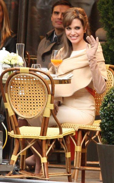 "Анджелина Джоли на съемках фильма ""Турист"""