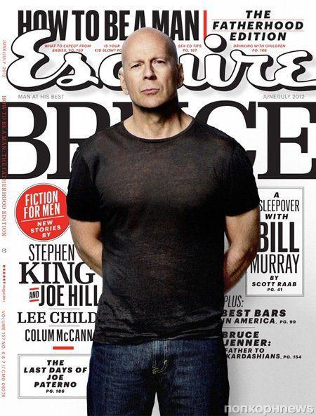 Брюс Уиллис в журнале Esquire. Июнь / июль 2012