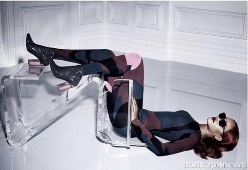 Рианна снялась в откровенной фотосессии  Dior