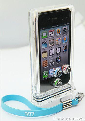 Специальный чехол для плавания с iPhone