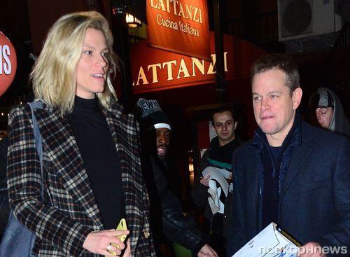 Вот это поворот: Мэтт Дэймон поужинал с бывшей девушкой Бена Аффлека