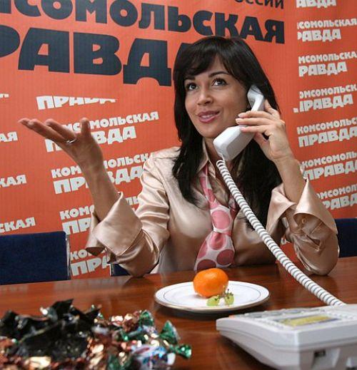 """Анастасия Заворотнюк: """"Петр - лучшая пара"""""""