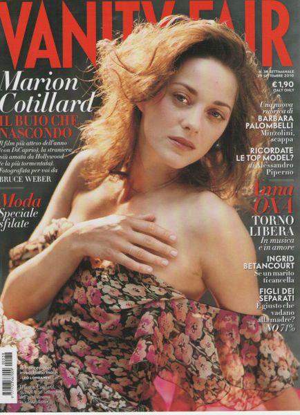 Марион Котийяр в журнале Vanity Fair. Италия