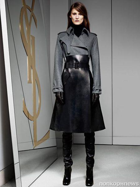 Новая пре-коллекция Yves Saint Laurent. Осень / зима 2012