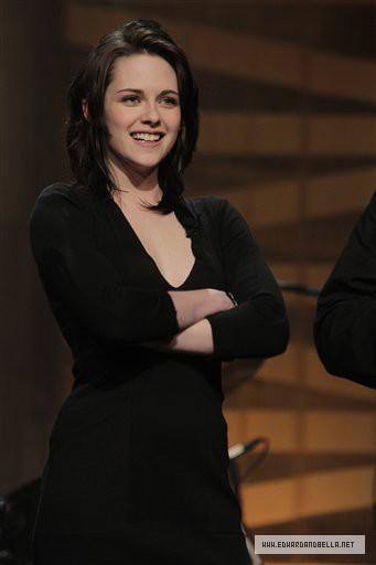 Кристен Стюарт на The Tonight Show с Джеем Лено