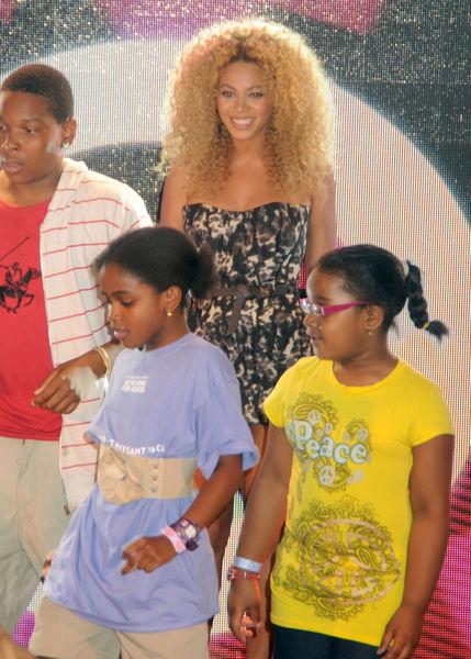 Бейонсе удивила поклонников в Восточном Гарлеме