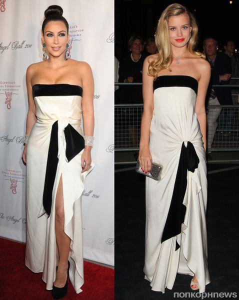 Fashion battle: Ким Кардашиан и  Джорджия Мэй Джаггер