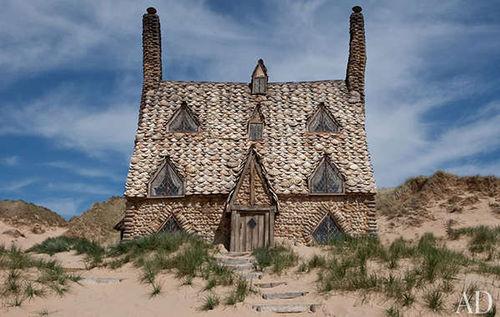 Журнал Architectural Digest о декорациях к фильму «Гарри Поттер и Дары смерти. Часть вторая»