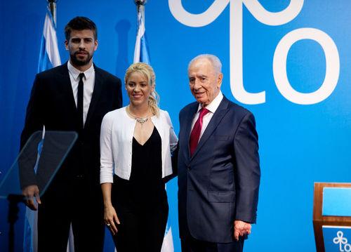 Шакира и Жерар Пике в Израиле