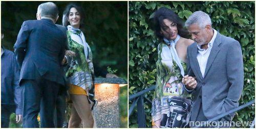 Жена Джорджа Клуни напугала поклонников своей худобой (фото)