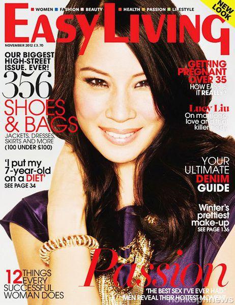 Люси Лью в журнале Easy Living. Ноябрь 2012