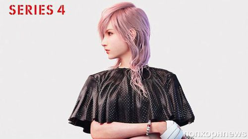 Героиня видео игры Final Fantasy стала «лицом» Louis Vuitton