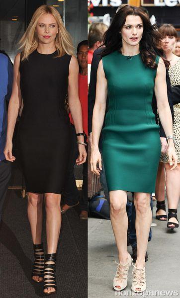Fashion battle: Шарлиз Терон и Рэйчел Вайс