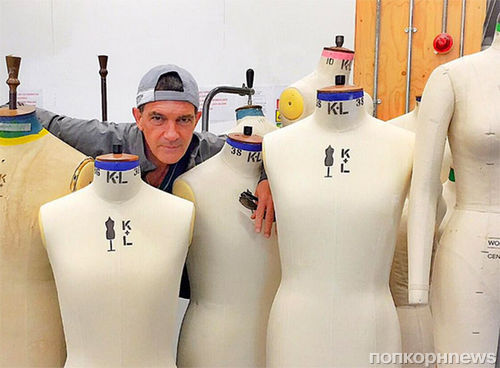 Антонио Бандерас представит первую коллекцию одежды в 2016 году