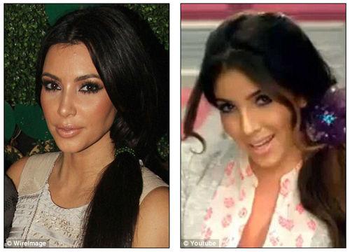 Ким Кардашиан подала в суд на своего двойника