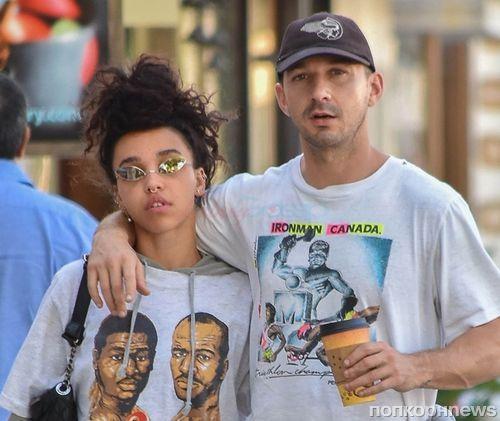 По-прежнему вместе: папарацци сфотографировали FKA Twigs и Шайю ЛаБафа на прогулке в Лос-Анджелесе