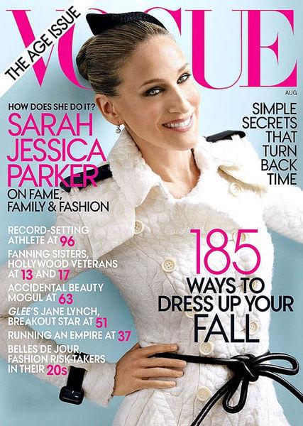 Сара Джессика Паркер в журнале Vogue. Август 2011
